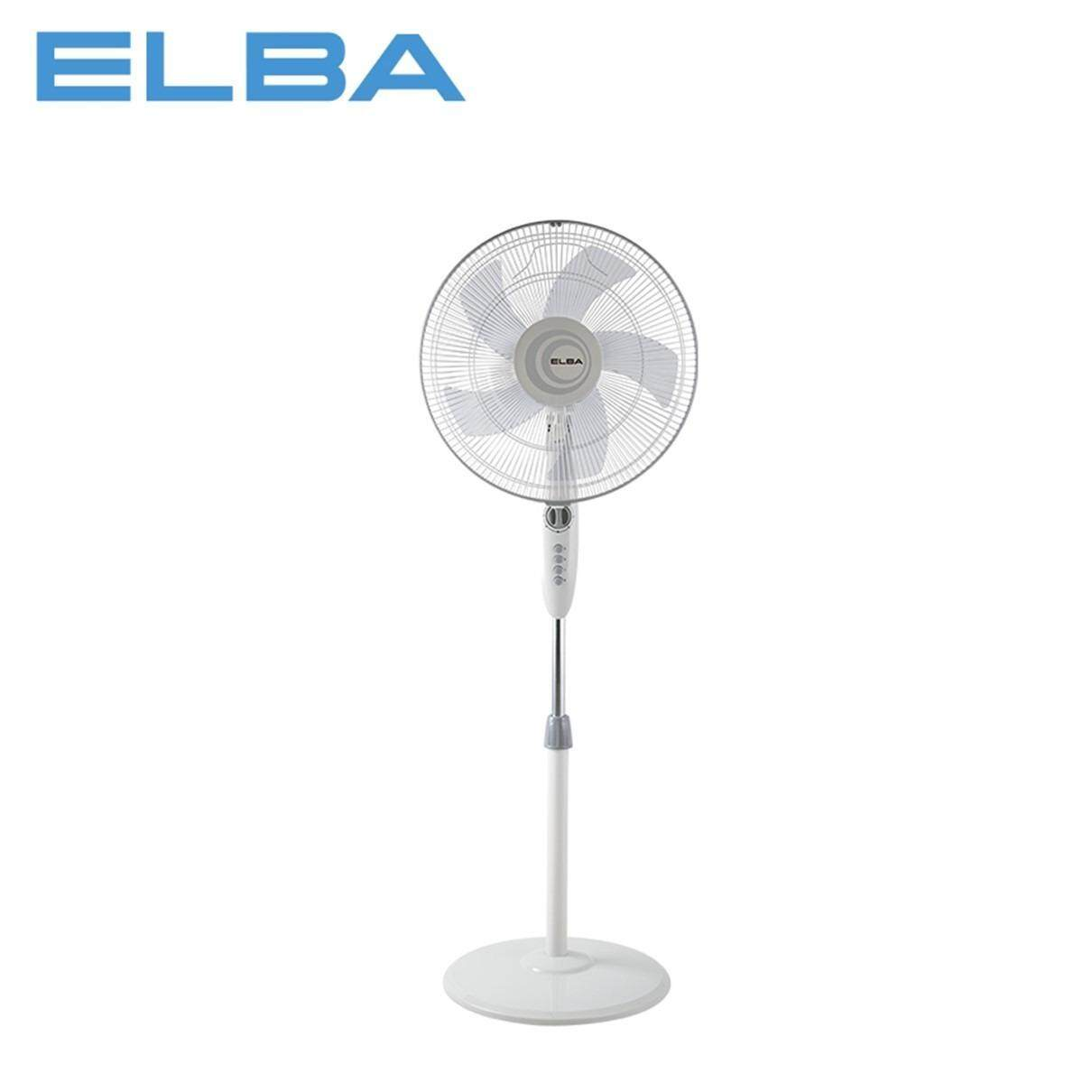Elba Stand fan 5 Blade with Timer ESF-E1639TM(GR)-White