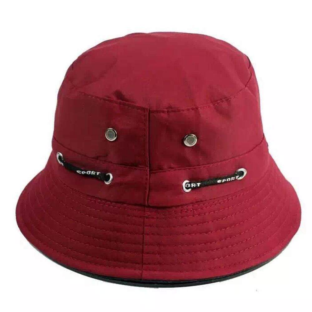 11 Warna Topi Bisbol Wanita Boonie Datar Topi Berburu dan Memancing Topi  Pantai Wanita Pria Sunhat 17c2dec67e