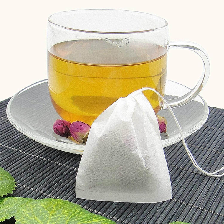 Eenten 200pcs Tea Filter Bags Unbleached Disposable Empty Tea Bags Drawstring Paper Tea Bag For Loose Tea By Eenten.