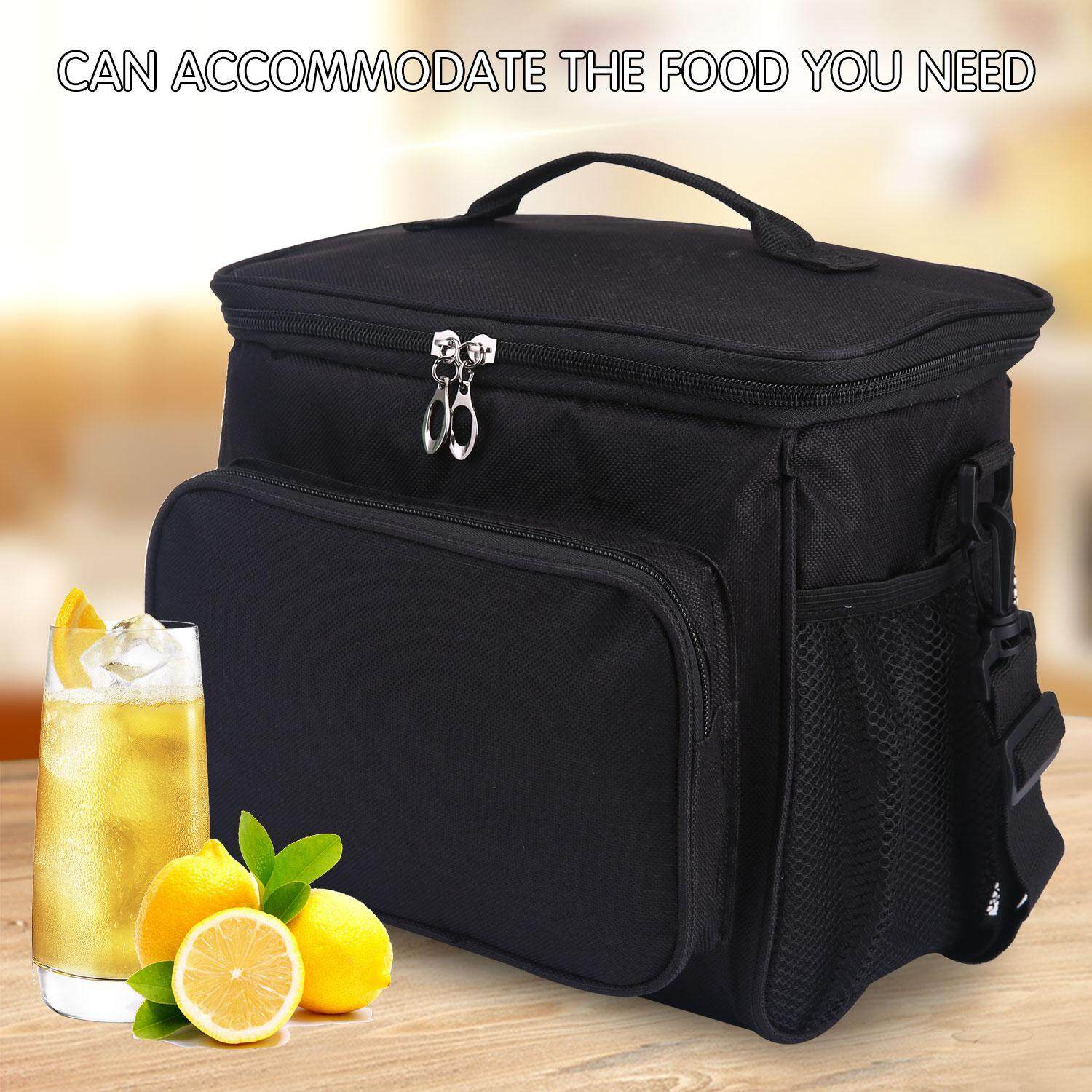 ead66d762ee leegoal Adult Lunch Box Insulated Lunch Bag Large Cooler Tote Bag For Men,  Women