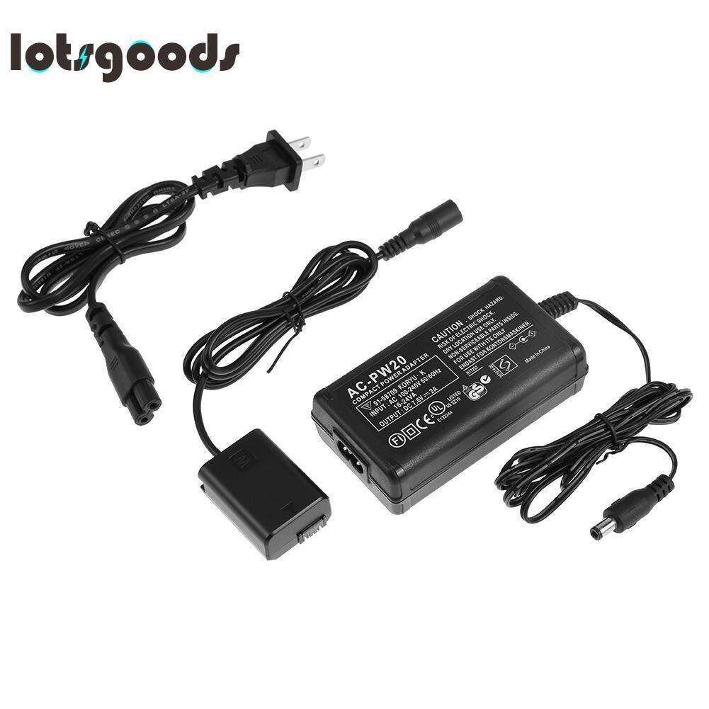 Battery Charger AC Power Adapter Kit for Sony NEX5TNEX35C5N NEX7NEX6A7RRX10(Black)-US plug