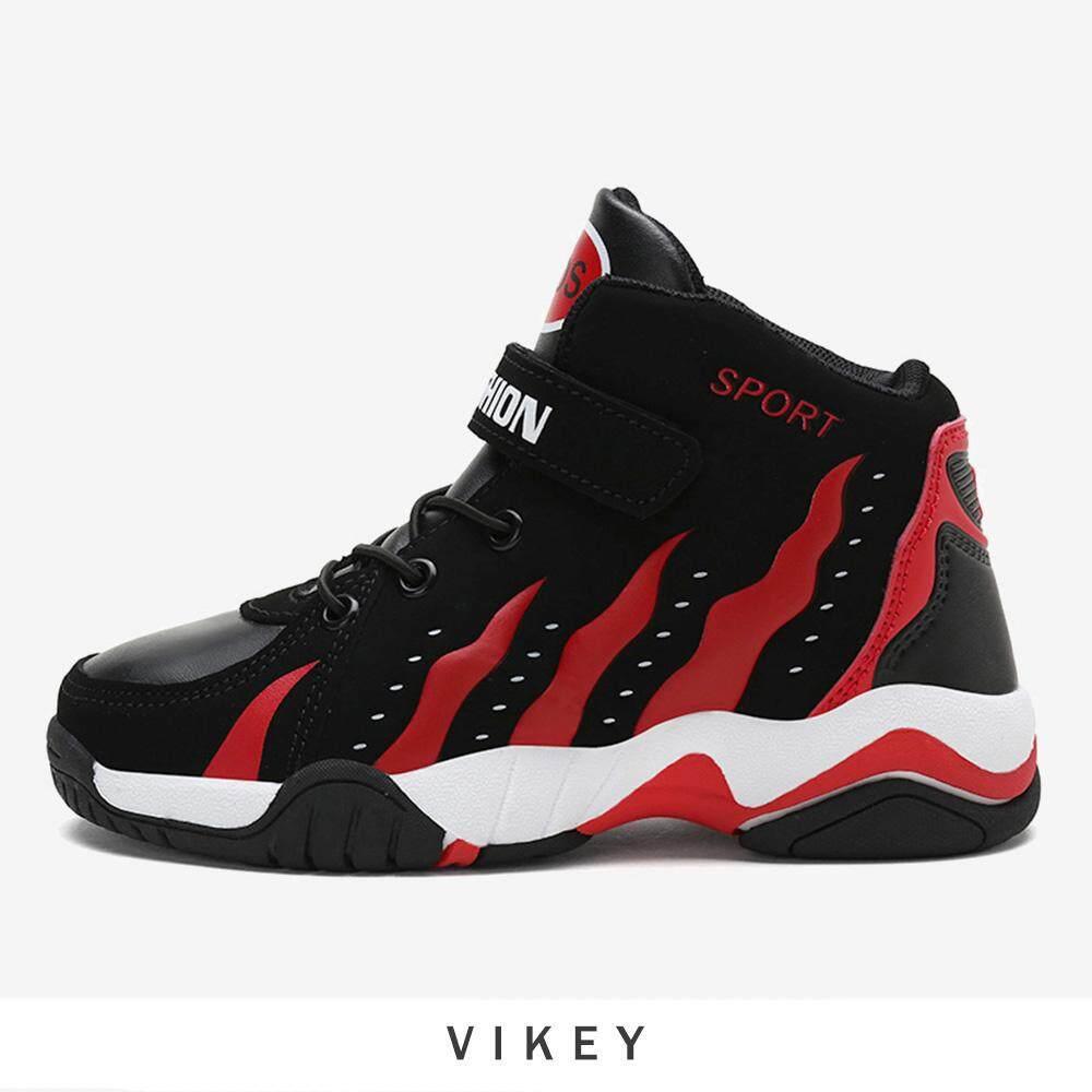 Vikey 30-39 Anak-anak Sepatu Basket Anak Laki-laki Anak Perempuan Meningkat a90eac7b19