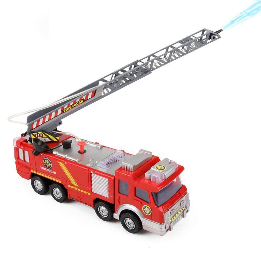 Oem Fire Engine Toy,fire Truck Car,operated Electric Car Rescue Vehicle With Manual Water Pump Extending Ladder Flashing Lights, Emergency Vehicles Toy For Kids Boy And Girl By Onlook.