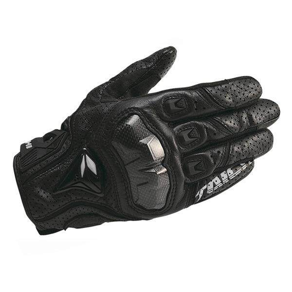 DualX RS Taichi RST390 Mens Perforated leather Motorcycle Mesh Gloves