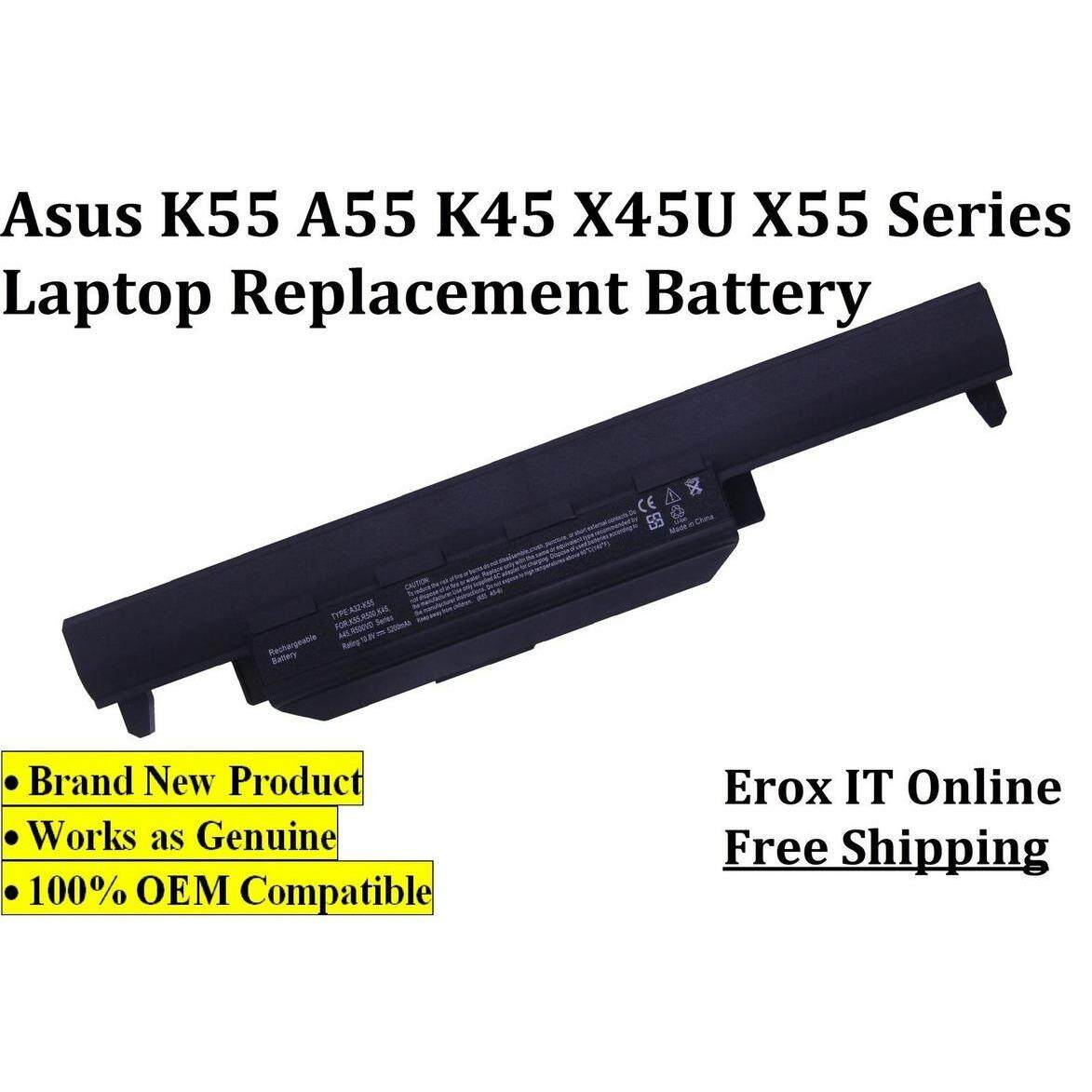 Asus A45VD Battery /Replacement Laptop Battery Asus A32-K55 Battery Malaysia