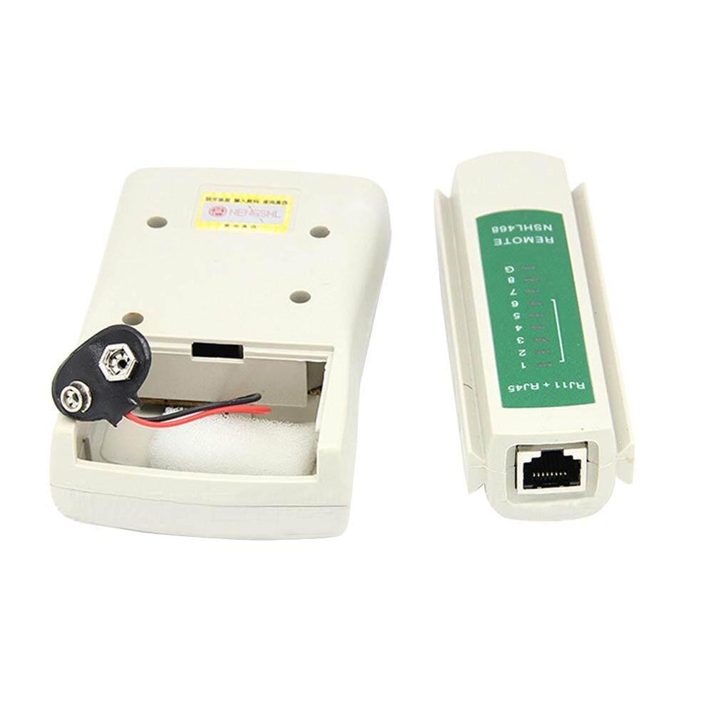 Multi-Fungsional RJ45 RJ11 Telepon Jaringan UTP LAN Kabel Telepon Tes Penguji .