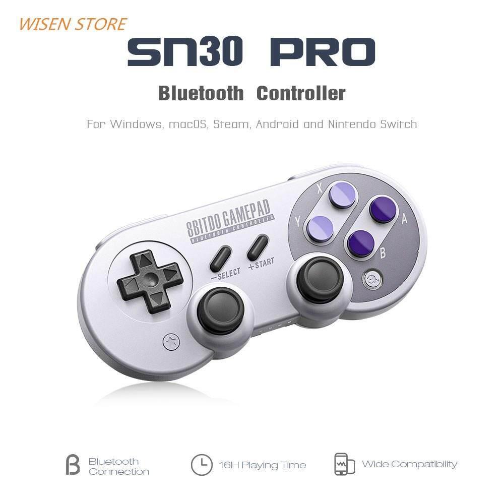 8bitdo Nes30 Pro Gamepad Controller Untuk Ios Dan Android Update Fc30 Wifi Bluetooth Classic For Pc 8 Bitdo Sn30 Pengontrol Game Nirkabel Dengan Joystick Windows Uap Nintendo