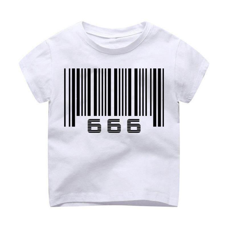 Kaos Anak Laki-laki Cetak Anak Pakaian Anak-anak Lengan Pendek T Shirt Tshirt