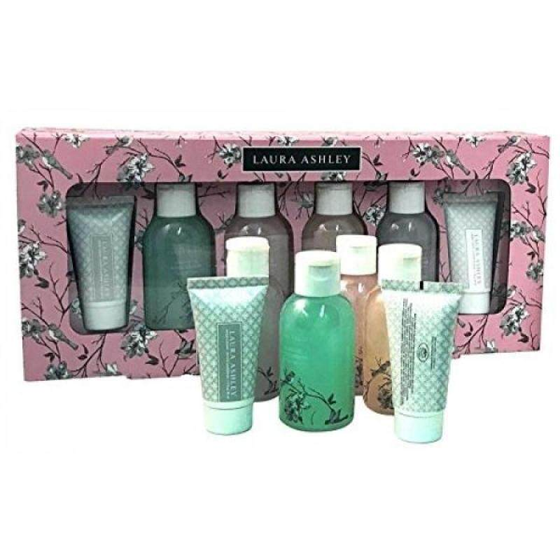 Buy Laura Ashley Beauty Body Care 6 pc Bath and Body Sampler Collection Gift Set - intl Singapore