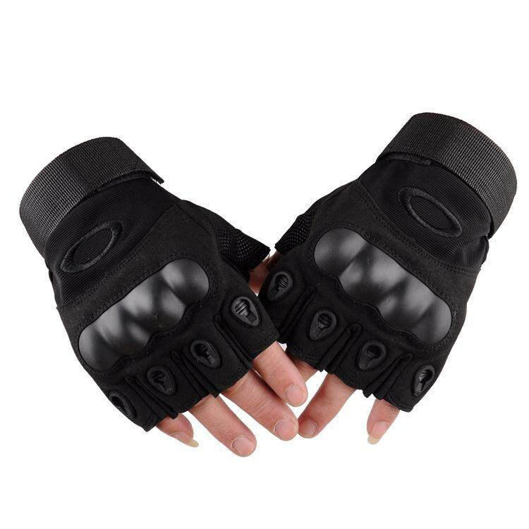 Fashion Special Tactics Sports Outdoor Driving Riding Boxing Mountaineering Sun Protective Gloves By Lizanda Trading.