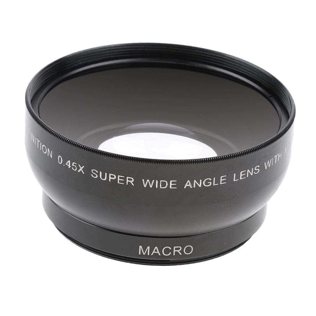 Miracle Shining 52mm 0.45X Wide Angle & Macro Lens for Nikon D3200 D3100 D5200 D5100 D3300