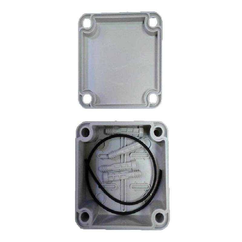 "LittleThingy 4"" x 6"" (110mm x 150mm x 70mm) Waterproof PVC Electric / Weatherproof Electronic Project Enclosure Junction Box / Case"