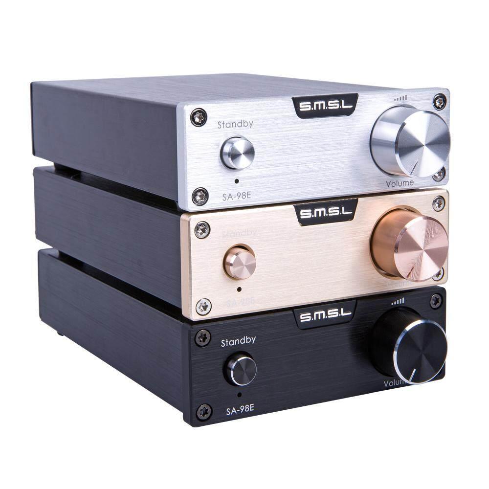 Smsl Sa-98e Tda7498e 160w*2 Class D High-End Super Hifi Audio Digital Power Amplifier Amp With Original High Power Adapter Black By Sen Hu Audio.