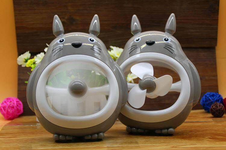 Cute Totoro Rechargeable Battery Fan