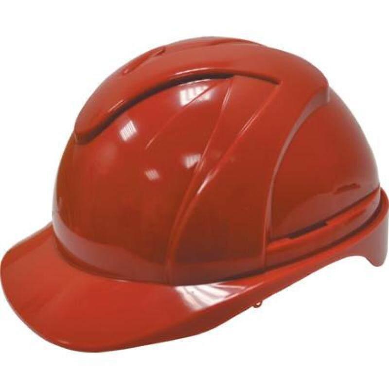 ABS VENTED COMFORT FIT SAFETY HELMET RED TFF9571240K
