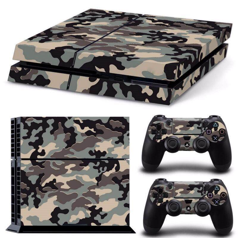 Hình ảnh Fashion Skin Sticker For PS4 PlayStation 4 Console + 2 Controller Protector Skin - intl