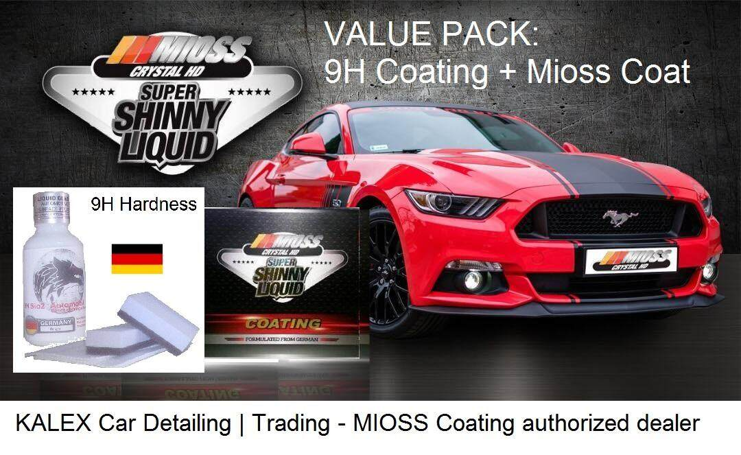MIOSS Car Coating woth White Wolve Auto 9H Nano hard coat(Formulated from Germany) Standard Size