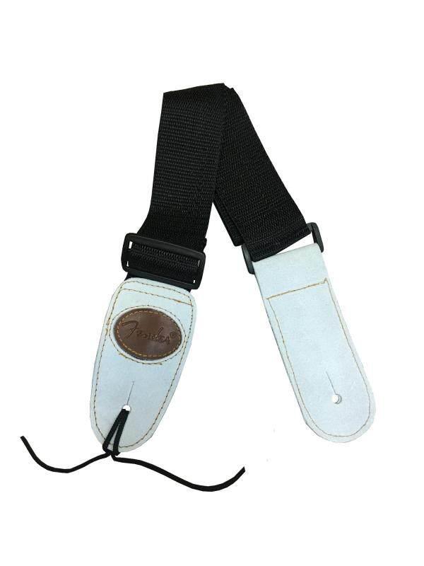 Plain Black simple guitar strap, Fender, Plain Black, suitable for acoustic guitar and electric guitar Malaysia