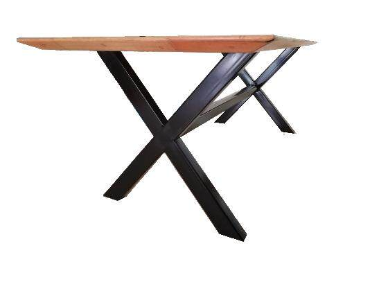 Dining/Meeting table with Meranti wood (brown) (7ft x 3ft x 2.5ft)