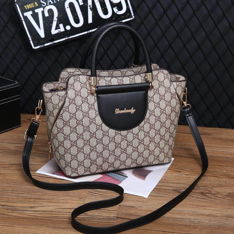 e4ba8af41d2a AOYI Fashion 2018 PU Leather Shoulder Bag Ladies Handbags Famous Brands  Women vintage Tote Bag New