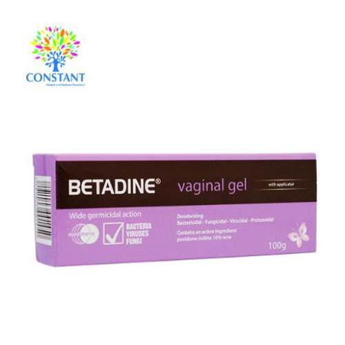 Betadine Vaginal Gel 100g