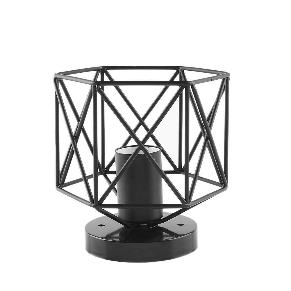 Lampshade Ceiling Lamp Retro Iron Cage Metal Shop Home