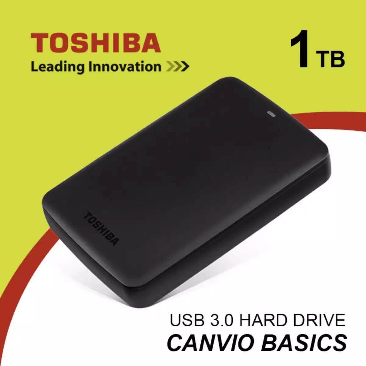 Toshiba External Hard Drives Price In Malaysia Best Hardisk Canvio 1tb Basics 30 Usb Portable Drive Disk Hdd Black