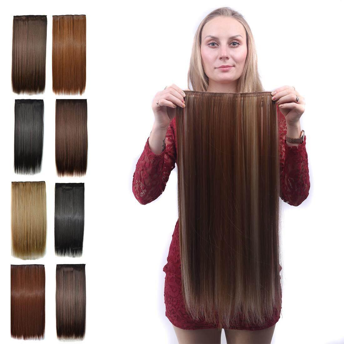 ... 60 Cm. Source · Detail Gambar Eropa Panjang Wig Rambut Lurus Klip  Perempuan Ekstensi Rambut Coklat Hitam Sopak Terbaru 80b271f7fa
