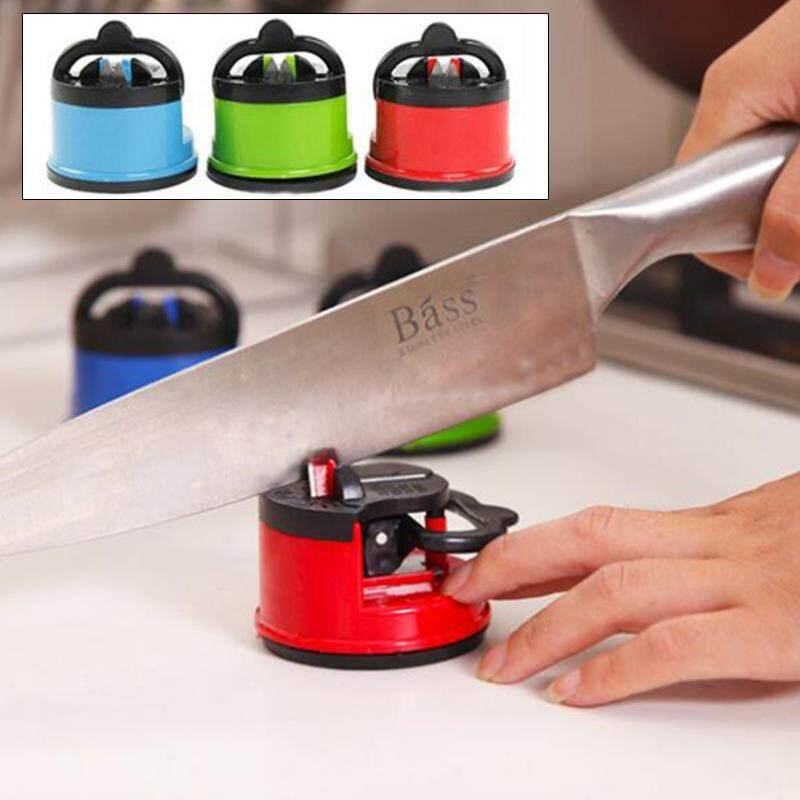 Buy & Sell Cheapest PENGASAH PISAU 39 Best Quality Product Deals Source · Sharpener Grind Stone Blades Sharpening Kitchen Gadget Color Random With Suction