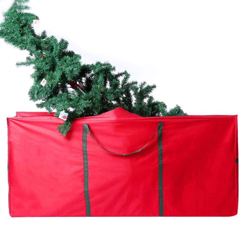 MG [Free Shipping] Heavy Duty Christmas Tree Storage Bag Large Handbag for Xmas Home Party Gift Storage Bag