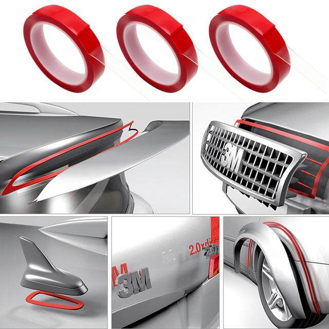 8/10/15/20 Mm X 3m Decoration Tools Auto Glue Sticker Car Double Side Tape Acrylic Foam Transparent Adhesive Car Stickers By Magicriver Store.