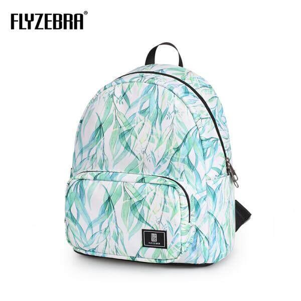 e28701115162  Catkins fly L Fly Zebra Japanese Small Fresh Print Backpack Backpack  Honeymoon Travel Bag