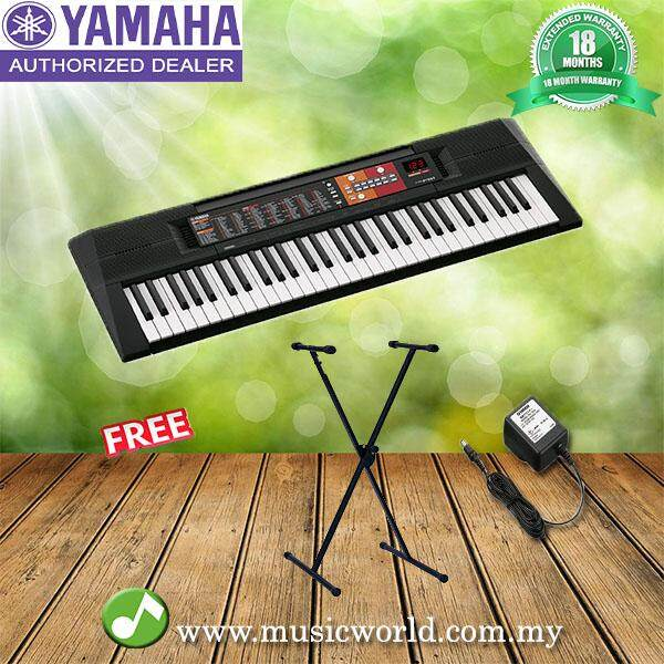 Keyboards pianos portable keyboards buy keyboards pianos yamaha psr f51 electrical keyboard beginner keyboard with stand psrf51 psr fandeluxe Image collections