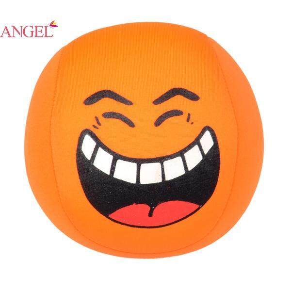 Angel Funny Soft Relieve Stress Grasp Ability Teether Emoji Ball Foam - intl