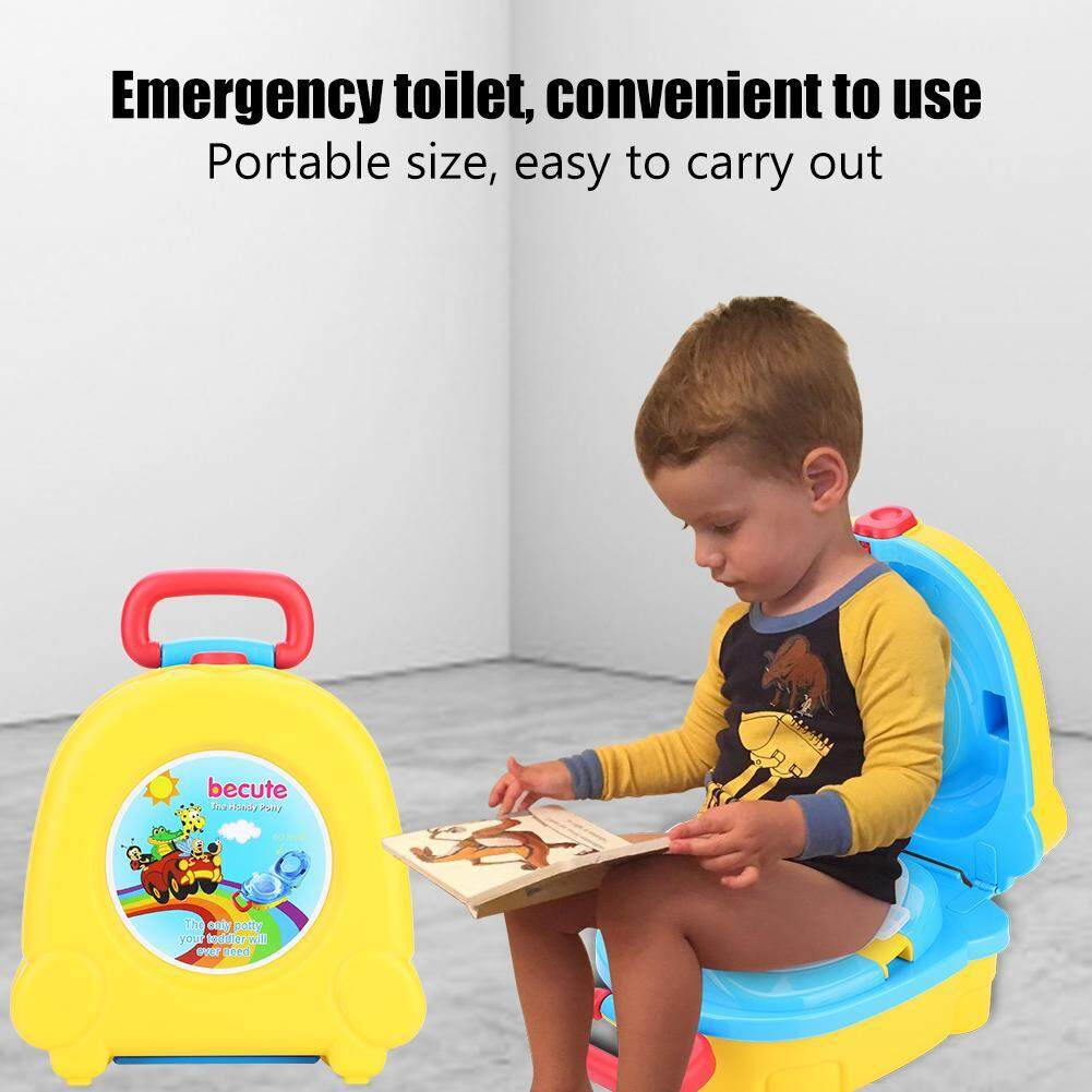 Kids Small Portable Toilet Travel Carry Seat Potty Baby Training Bedpan By Highfly.