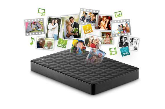 Seagate Expansion 1TB Portable External Hard Disk Drive ExHDD (USB 3.0, Black HDD Version, 1 Year Warranty)