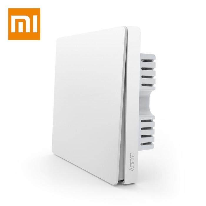 Xiaomi QBKG04LM Aqara Wall Switch Smart Light Control ZigBee Versi Single Key