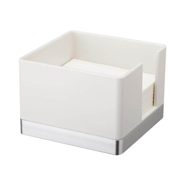 Mua Plastic Memo Holder Simple Elegant Sticky Notes Holder Desktop Note Dispenser(White)