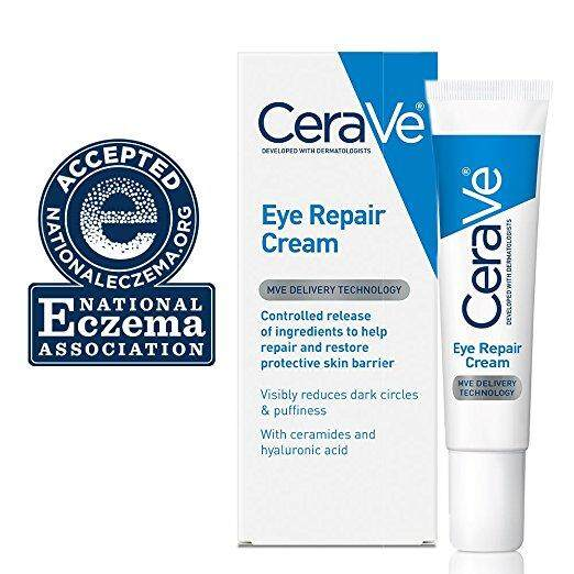 [ iiMONO ] CeraVe Eye Repair Cream 0.5 oz for Dark Circles Under Eyes and Puffiness