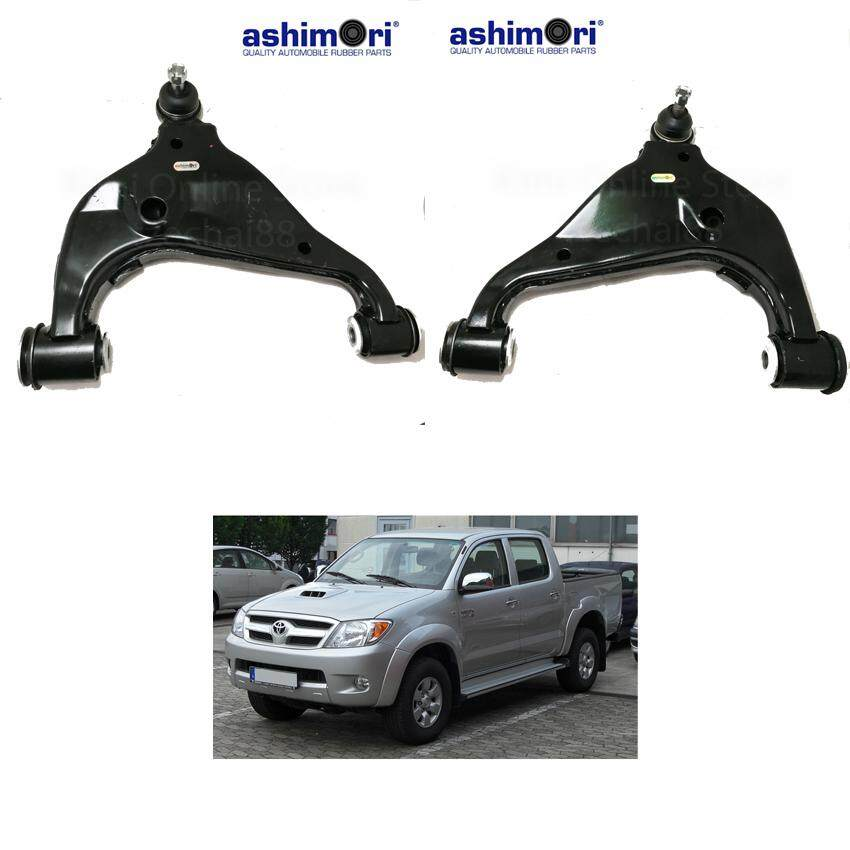 Ashimori Lower Control Arm Assembly Front Right + Left Toyota Hilux KUN25 4WD