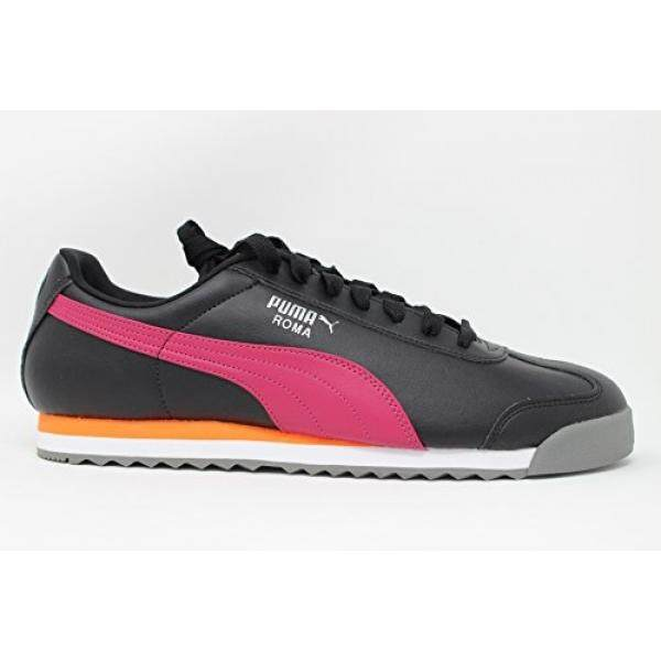 PUMA Roma Mens Fashion Sneakers Shoes Black - intl 9a576d4e7