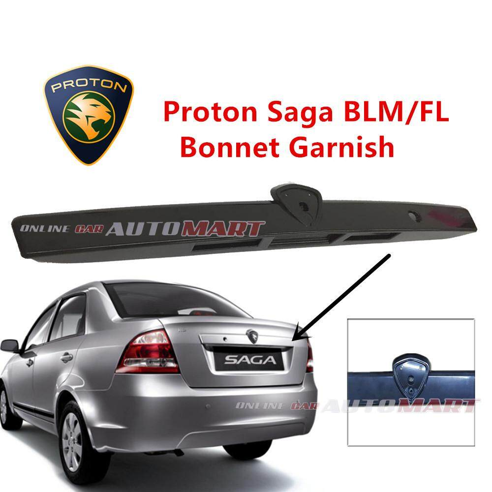 Proton Saga BLM FL FLX SV SE PLUS 2008-2016 Rear Boot Garnish Cover Bonnet Rear Trunk Moulding