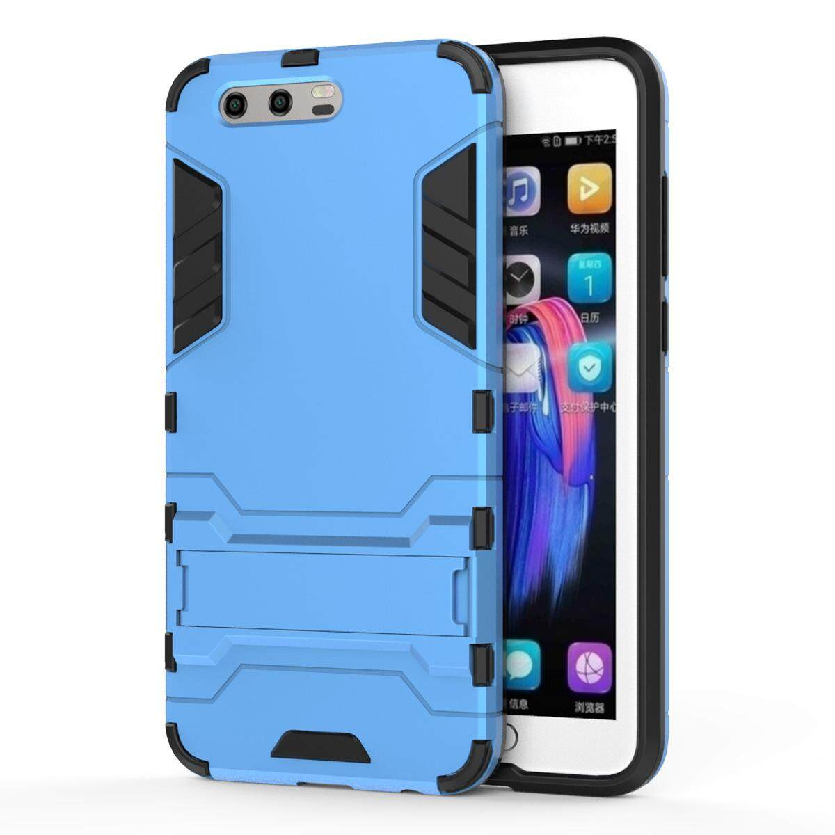 Hình ảnh for Huawei Honor 9 Case 2in1 PC+TPU Hybrid Slim Back Case Ultra Thin Armor Cover, with Kickstand Holder, Glossy, Minimalist, Casual