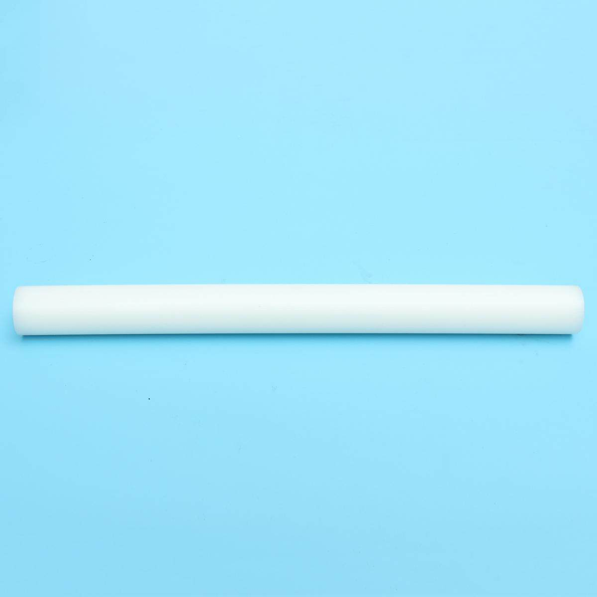 White Hdpe (high Density Polyethylene) Plastic Rod 1 X 12 /d X L Bar Natural - Intl By Freebang.