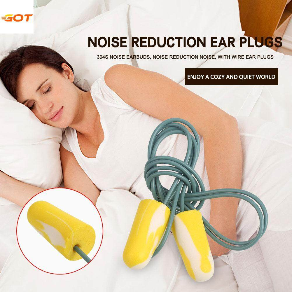 Got It Ear Plugs 1pair Prevent Noise Soft