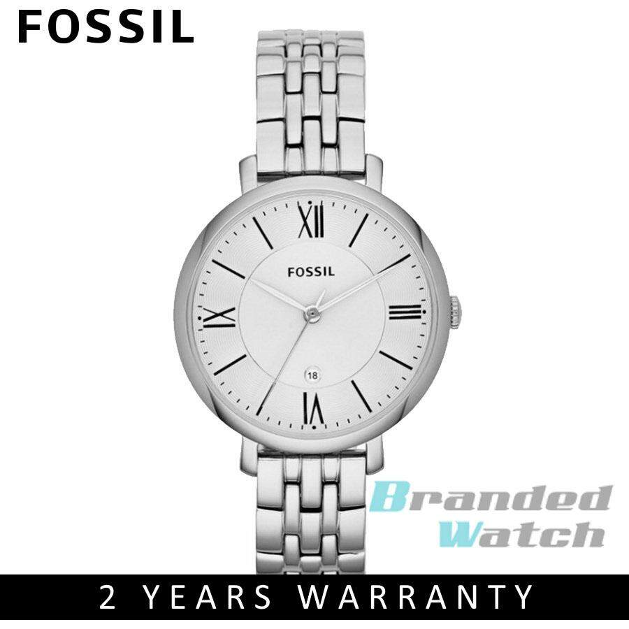 Fossil Es3988 Jacqueline White Dial Rosegold Blush Leather Strap Jam Tangan Wanita Original Es4222 Modern Pursuit Chrono Es3433 Womens Quartz Steel Watch