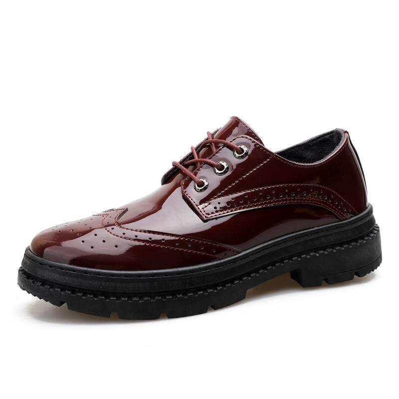 ฤดูใบไม้ร่วงฤดูใบไม้ร่วงรองเท้าบุรุษ, Casual รองเท้าหนัง By Asia Online Supermarket.