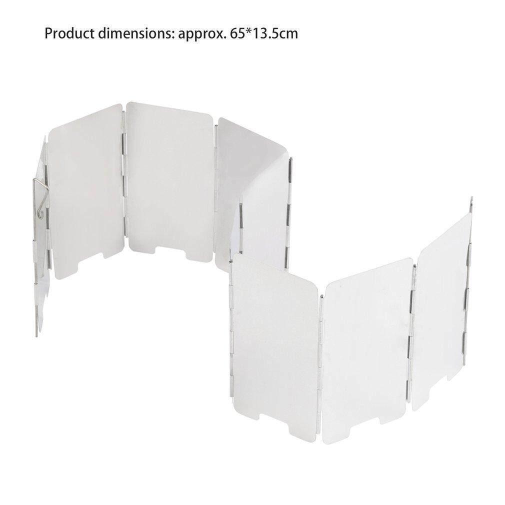 Detail Gambar OSMAN Foldable Mini 9 Plates Cooker BBQ Gas Stove Wind Shield  Screen Picnic Outdoor 3d3c177256