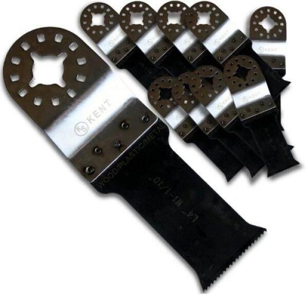 10pcs Set Kent Flush Cut Bi Metal Oscillating Saw Blades Fits Fein