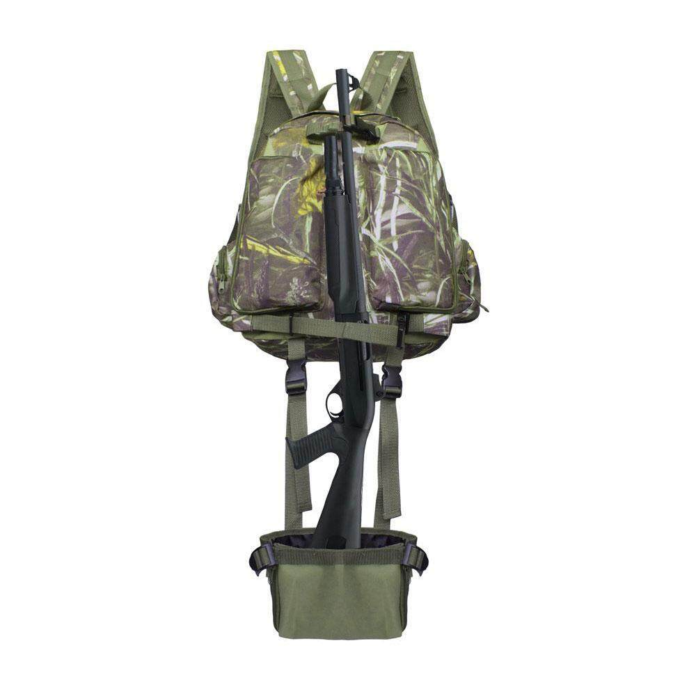 Kacoo Tactical Backpack Rifle Back Holster Military Rucksack For Trekking Camping Hiking Traveling (reed Camouflage) By Kacoo.